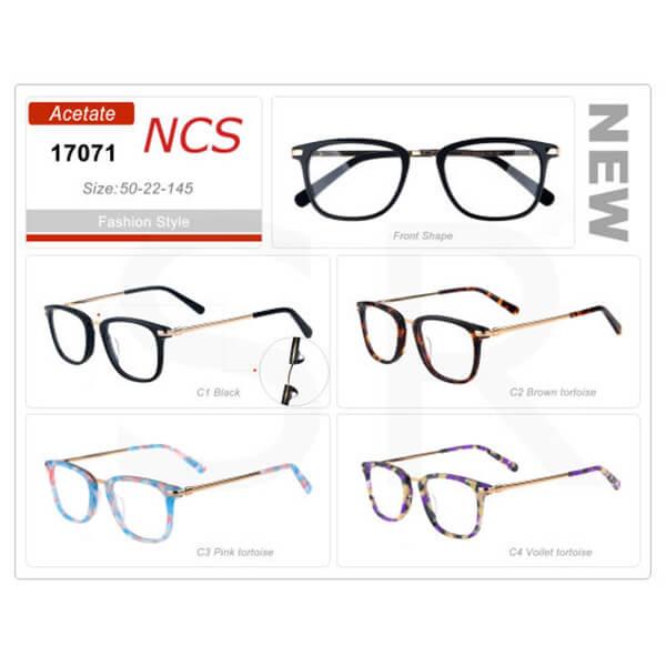 Fashion Retro Acetate Eyeglass Frame High Quality Design