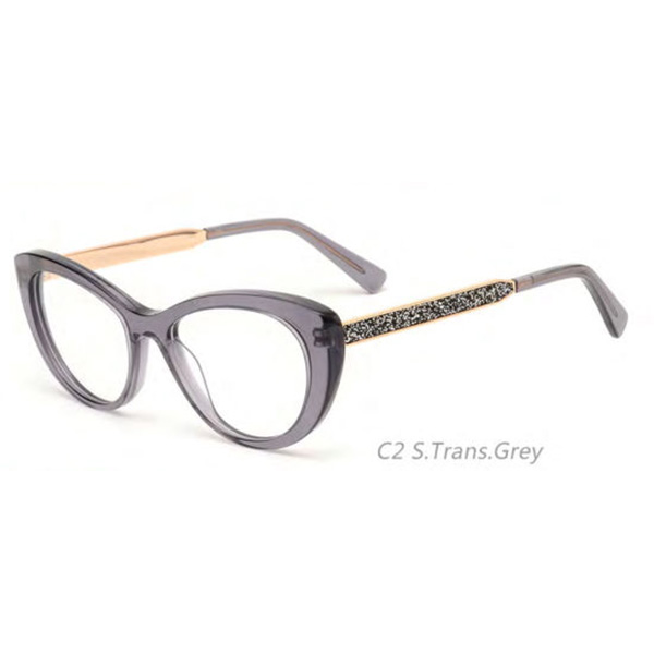 Designer Fashion Colorfull Eyewear Frame Acetate Optical Spectacle for Women