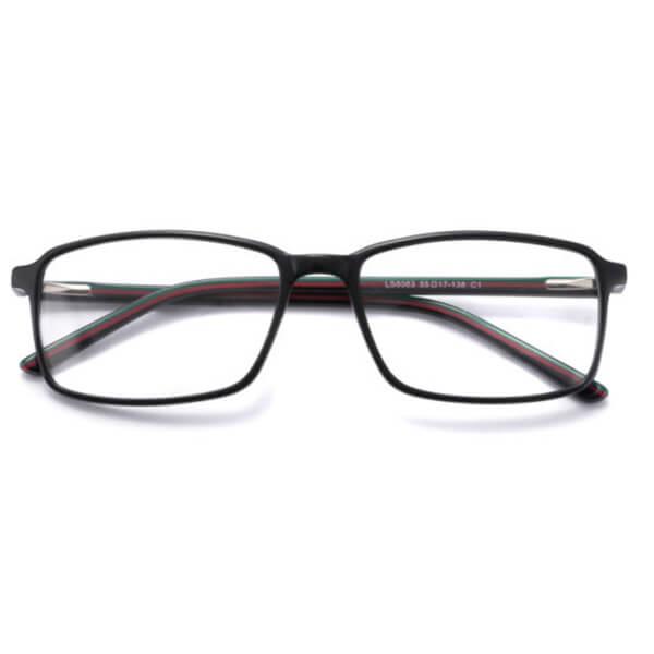 Men Style Injection Acetate Optical Frames Eyewear Frame