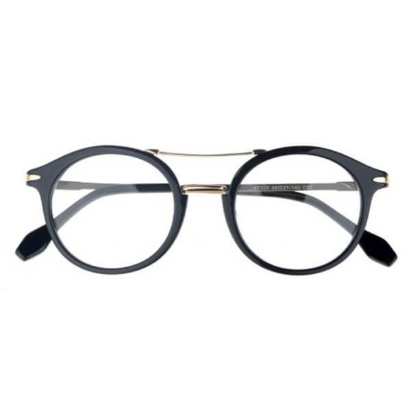 Multicolored Round Lense Shape High Quality Acetate Glasses Frame