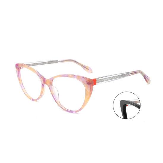 Well Sold New Season Design Acetate Frame Good Quality Eyewear