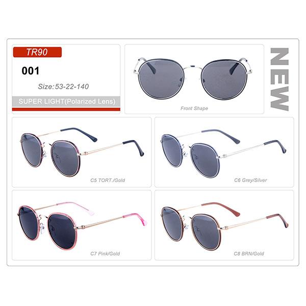 Top Quality Ready Stock Fashion Acetate Frame Sunglasses