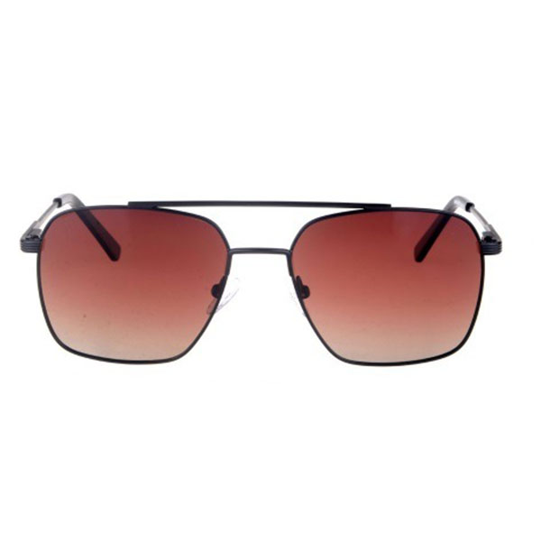 2021 Fashionable Double Bridge Metal Frame Sunglasses with High Quality