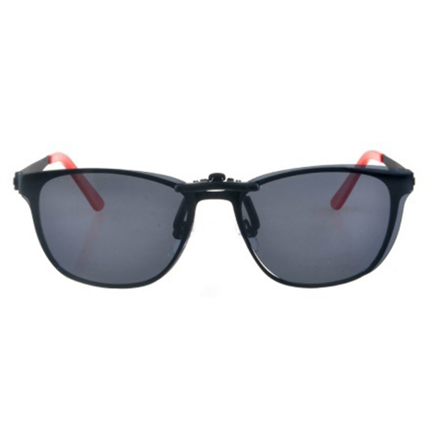 2020 Good Quality Fashionable New Arrival Acetate Clip on Sunglasses