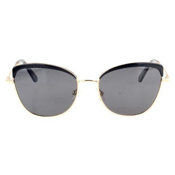 Hot Sell Men Women Metal Frame Square Black Sunglasses