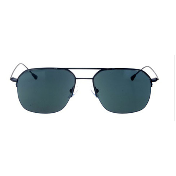 2021 Modern Design Double Bridge Metal Sunglasses