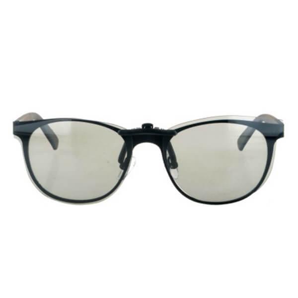 2020 New Design Acetate Frame Clip on Sunglasses