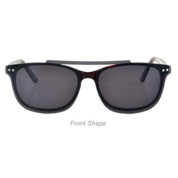 2021 Fashion Ready Stock Acetate Clip on Sunglasses