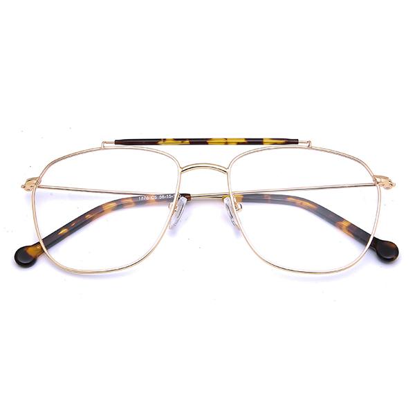 2021 New Stylish Men Metal Optical Glasses