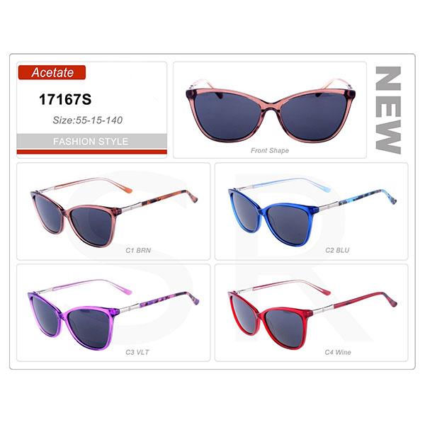 Good Design Product Small Order Acetate Frame Sunglasses