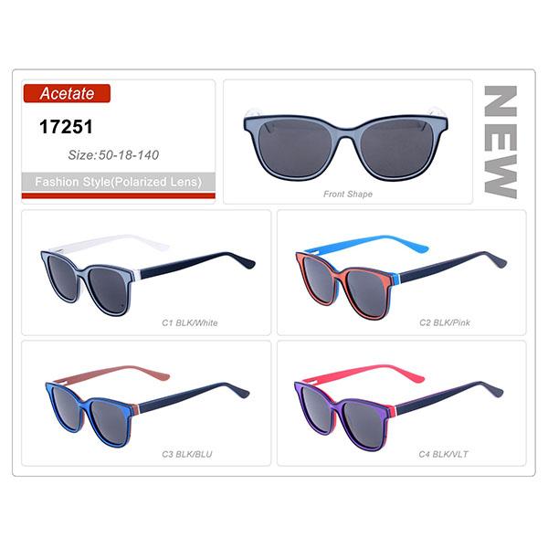 Good Quality Acetate Small Order Frame Sunglasses