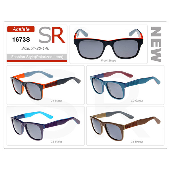 Top Quality Frame Acetate Small Order Sunglasses