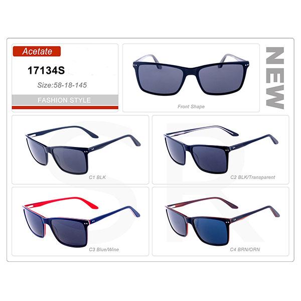 Small Order Acetate Frame Sunglasses