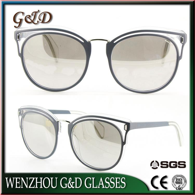 Classic Designer Polarized UV400 Make Order Frame Sunglasses