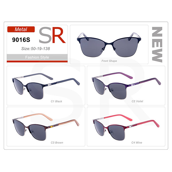 Classic Design Frame Acetate Small Order Sunglasses
