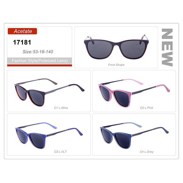 Classic Model Ready Stock Acetate Frame Sunglasses