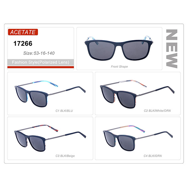 Classic Product Acetate Small Order Frame Sunglasses