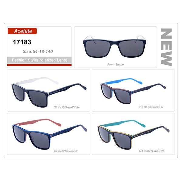 Classic Product Ready Stock Acetate Frame Sunglasses