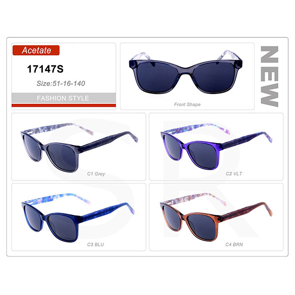 Classic Product small Order Acetate Frame Sunglasses