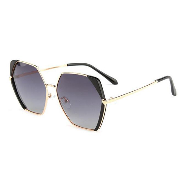 Fashion Design Vintage Polarized Acetate Frame Sunglasses
