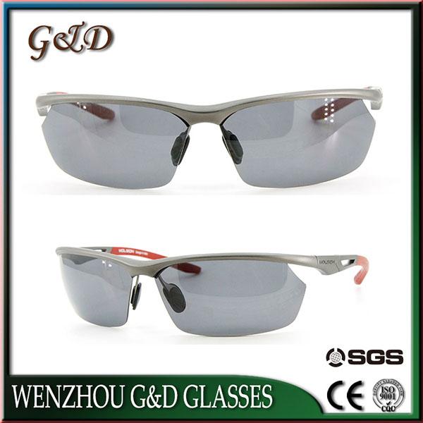 Design Model Aluminum Make Order Frame Sport Sunglasses