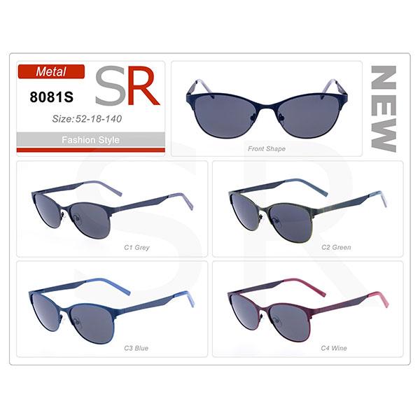 Design Style Frame Acetate Small Order Sunglasses