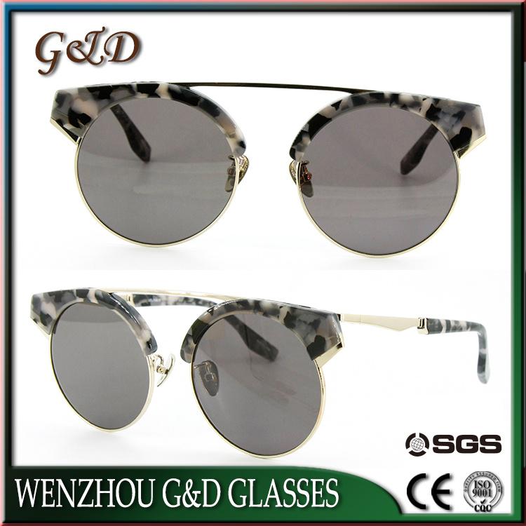 Fashion Model  Make Order Frame Grey Sunglasses