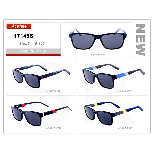 Model Small Order Acetate Frame Sunglasses
