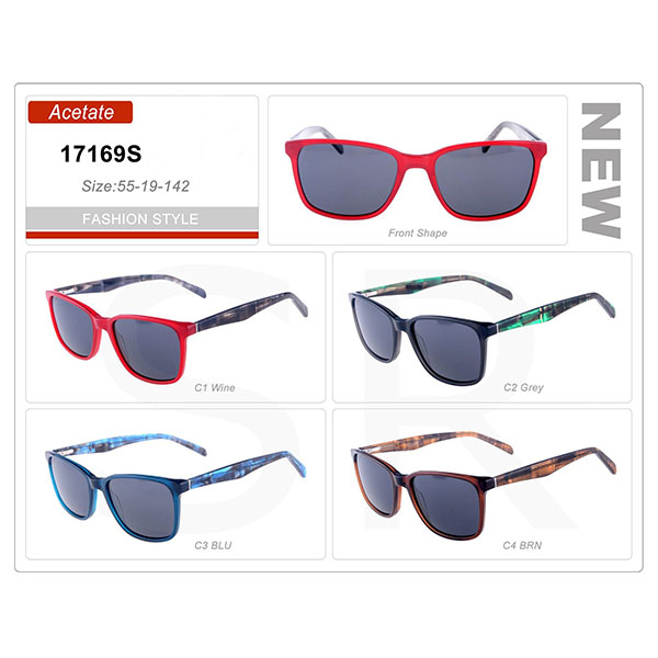 Outlooking Small Order Acetate Frame Sunglasses
