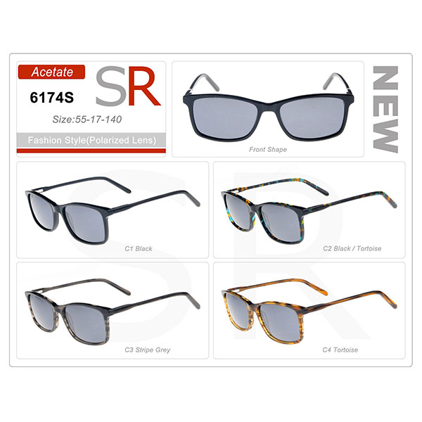 Frame Acetate Small Order Sunglasses