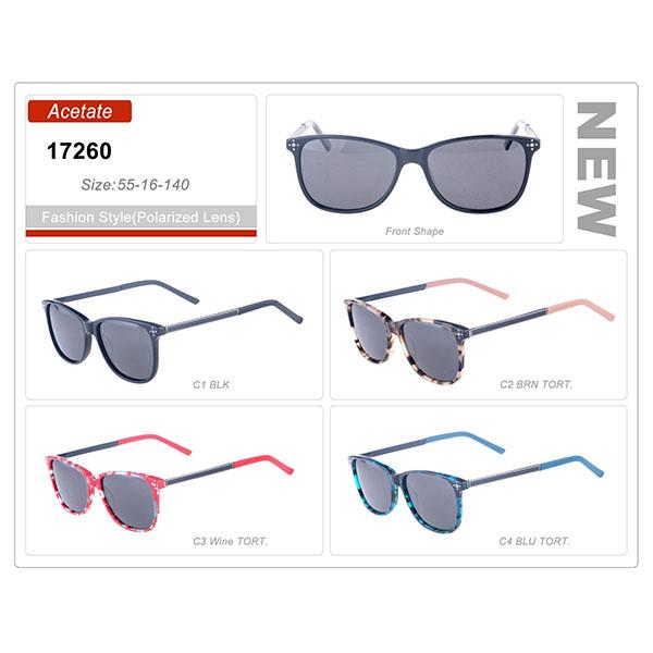 Style Model Acetate Small Order Frame Sunglasses