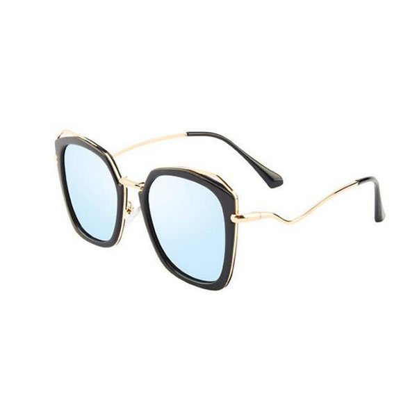 Fashionable Model Women Luxury Metal Frame Sunglasses