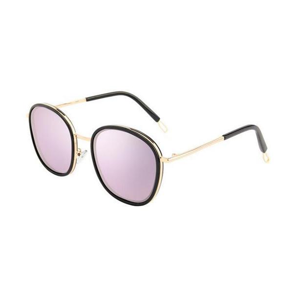 Good Model Design Acetate Frame Pink Fashion Round Sunglasses