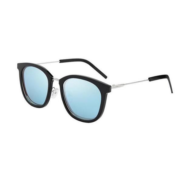 Good Quality Design Blue UV400 Acetate Frame Acetate Sunglasses