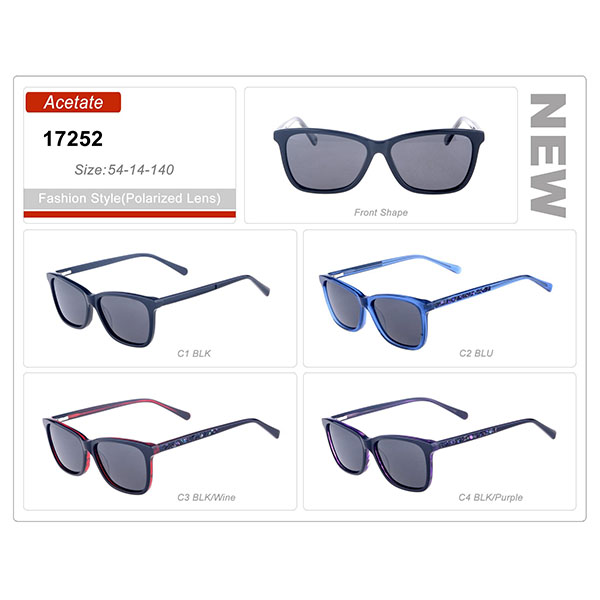 Good Quality Stock Acetate Small Order Frame Sunglasses