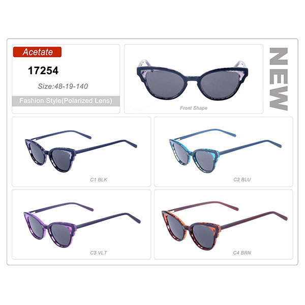 Good Quality Product Acetate Small Order Frame Sunglasses