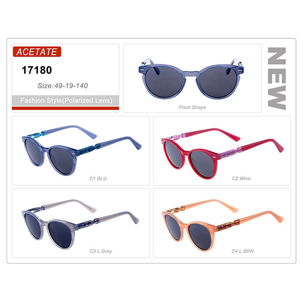 Good Quality Ready Stock Acetate Frame Vintage Sunglasses