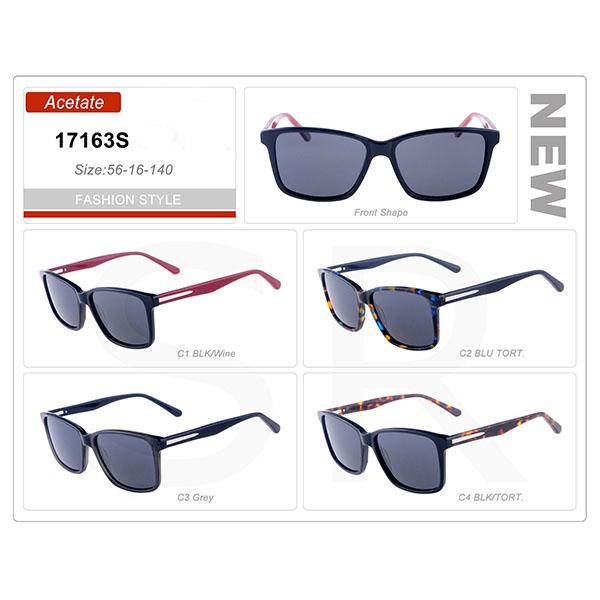 Good Quality Small Order Acetate Frame Sunglasses
