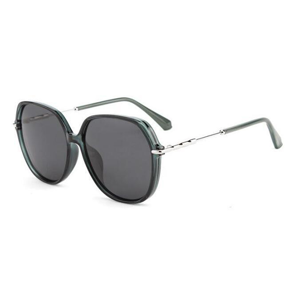 Great Design Model Transparent Acetate Frame Black Sunglasses