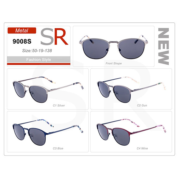High Quality Model Frame Acetate Small Order Sunglasses
