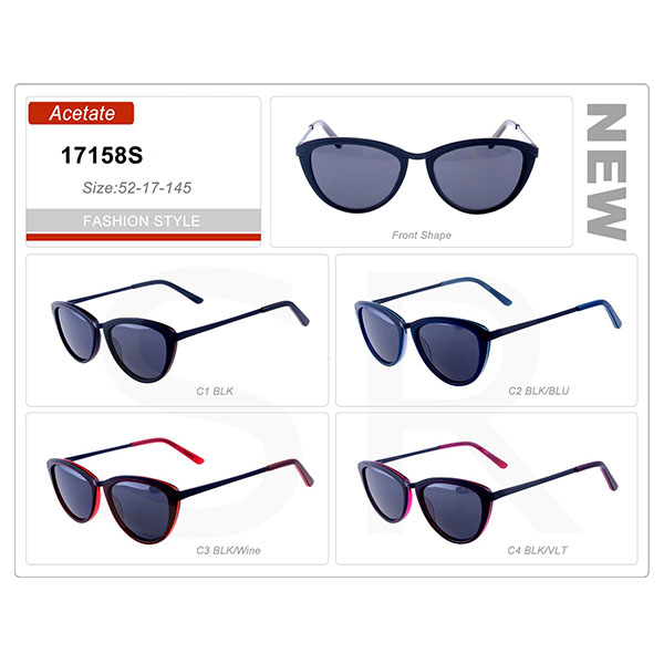 High Quality Model Small Order Acetate Frame Sunglasses