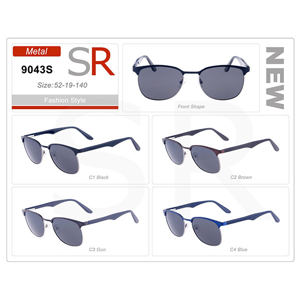 High Quality Style Frame Ready Stock Acetate Small Order Sunglasses