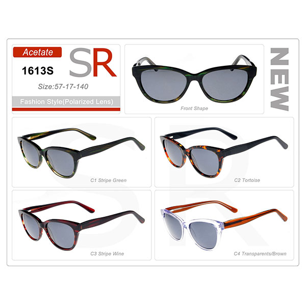 High Quality Style Acetate Small Order Frame Sunglasses