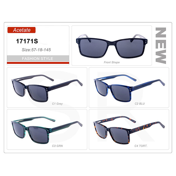 High Quality Small Order Acetate Frame Sunglasses