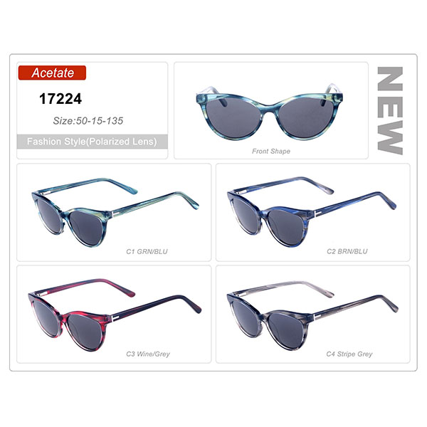 Hot Selling Ready Stock Acetate Frame Sunglasses