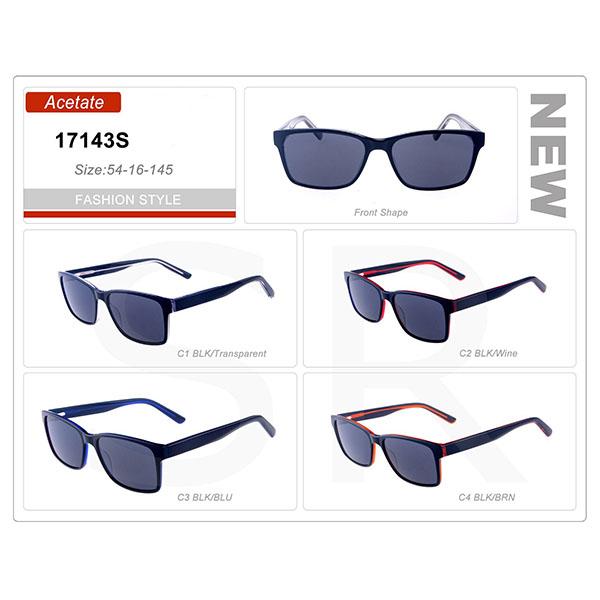 Latest Design Small Order Acetate Frame Sunglasses