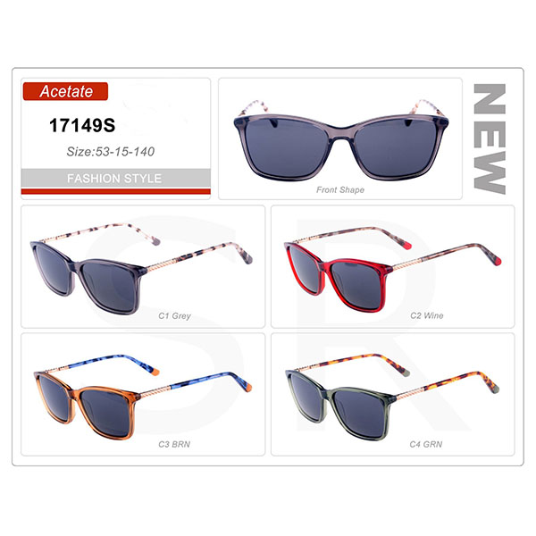 Latest Product Small Order Acetate Frame Sunglasses
