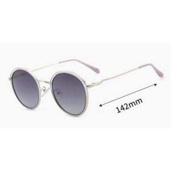Model Round Men Acetate Frame Women Sunglasses