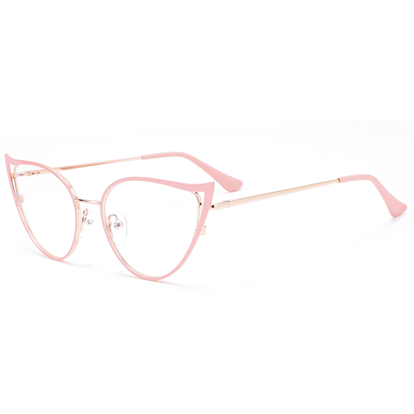 New Arrival Female Fashion Eyewears Metal Frames Hot Selling Spectacles