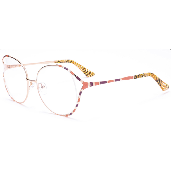 New Arrival Stunning Metal Frames Big Size Spectacles